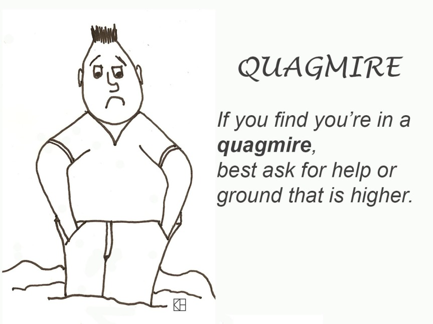 Quagmire – Word of the Week July 20, 2016
